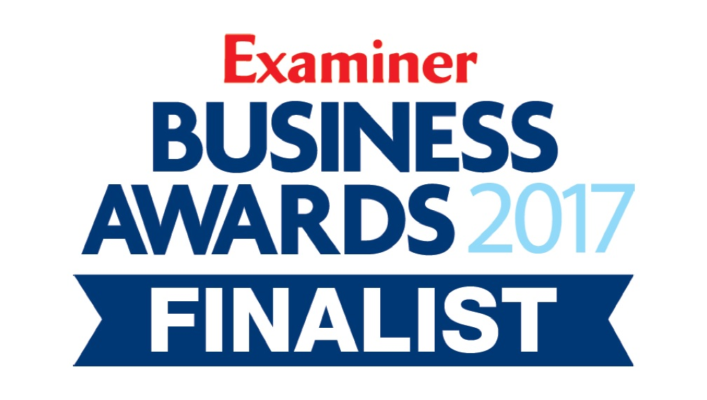 Applied Digital - finalists in the Examiner Business Awards 2017