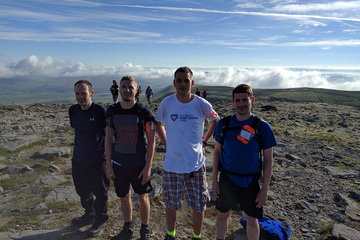 Applied Digital complete Three Peaks Challenge in aid of Children's Heart Surgery Fund!