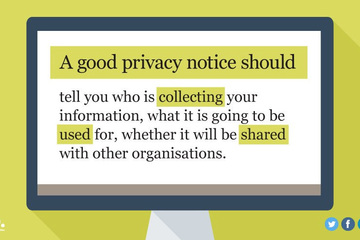 What to include in a privacy notice - GDPR series