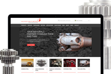 New website for Hillfoot Multi Metals from Applied Digital