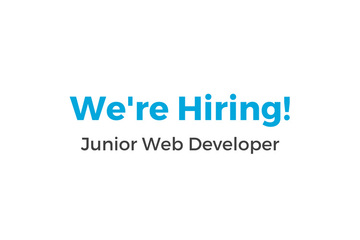 We're Hiring a Junior Web Developer