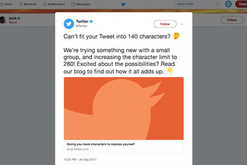 Twitter trialling 280 characters - Applied's opinion