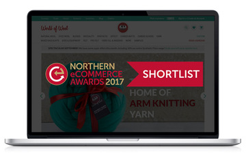 We're shortlisted for the Northern eCommerce Awards 2017!