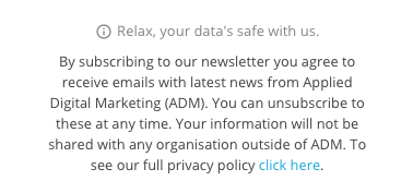 Privacy Policy >> What To Include In A Privacy Notice Gdpr Series Applied Digital